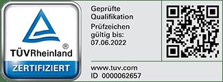 TUeV Zertifikat 22