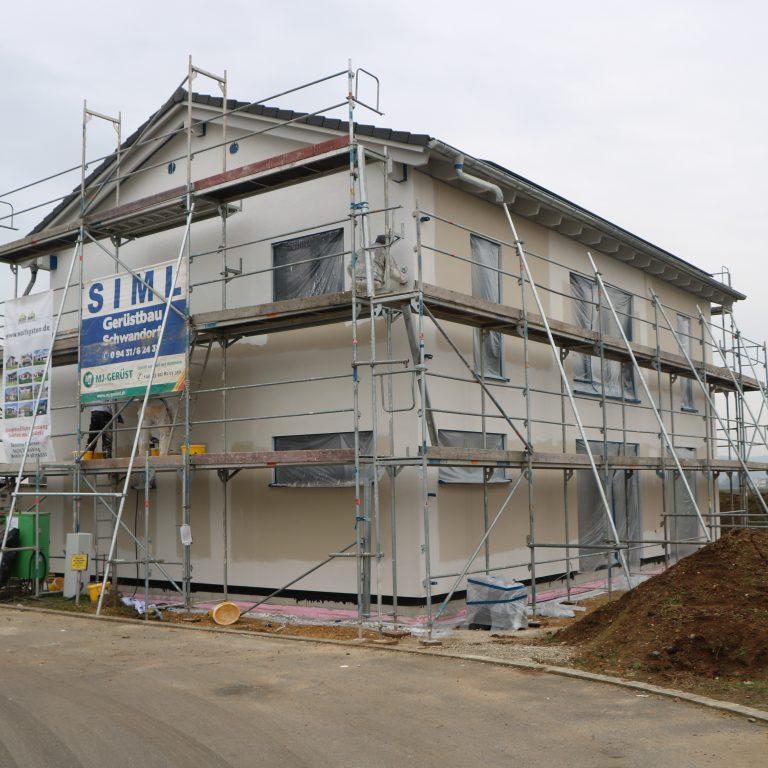 Baubegleitende Qualitaetskontrolle in Barbing von 10.2020 bis 04.2021