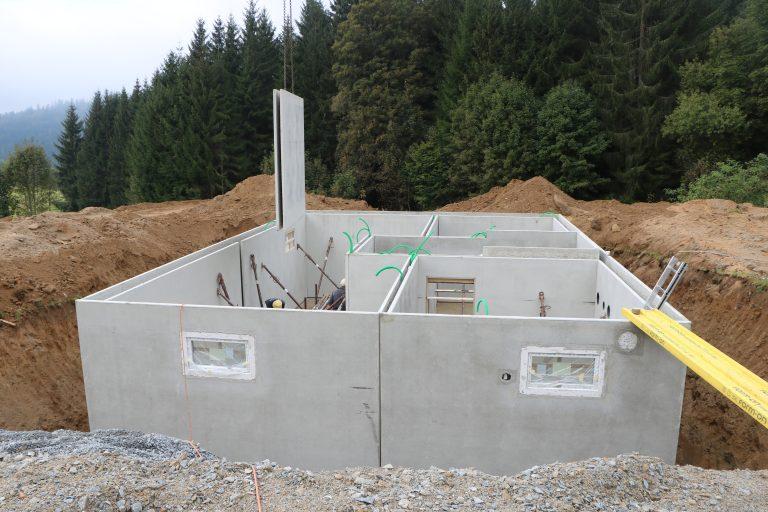 Baubegleitende Qualitätskontrolle in Mauth von 08.2020 bis 04.2021