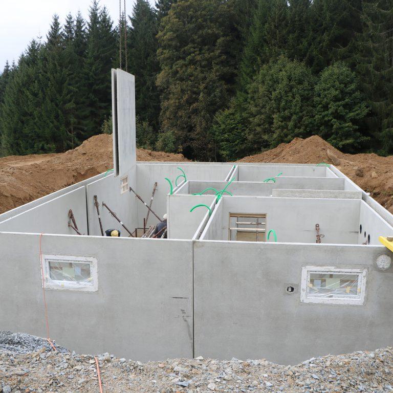 Baubegleitende Qualitaetskontrolle in Mauth von 08.2020 bis 04.2021